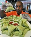 Somali Guy at Work